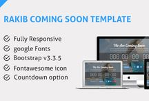 HTML Coming Soon Templates