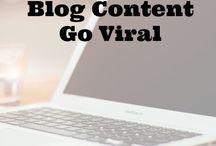Blogging Tips / Blogging for beginners, blogging for money, blogging for ideas, blogging tips...let's get it, girl bosses!