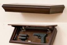 Gun in home
