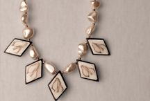 """""""What to adorn"""" / Vintage jewelry pieces to complete your look."""