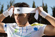 fascia Ts Tennisstore / fascia asciuga sudore Ts Tennisstore