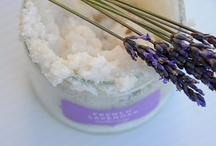 Soaps, bath salts and body scrubs / by Claudia Simão
