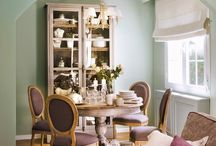 Dining Room Ideas / Dining Room Ideas! Create your own dining room furniture at www.hiddenmill.com