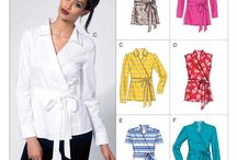 Sewing patterns owned Tops