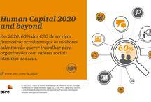 Human Capital / As Pessoas são a principal fonte de diferenciação das Organizações. O desafio hoje passa por potenciar o valor do seu Capital Humano. Em condições de mercado incertas, a Gestão de Topo está cada vez mais pressionada a assegurar que o seu Capital Humano seja competitivo.