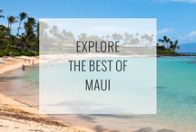 Maui Attractions / The best things to do, see, and explore when traveling to Maui, Hawaii! See them all: http://www.ruebarue.com/maui