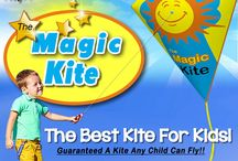 The Magic Kite / Are you looking for something fun for the kids?  Kids of all ages can fly a kite now.       With The Magic Kite we guarantee any child can now fly a kite.   There's something very magical about flying a kite. With the magic kite its now possible for kids of all ages to capture that magical feeling of holding on to a string while their magic kite sores threw the air.   The magic kite is the only kite that needs absolutely no wind to fly.                         www.themagickite.com