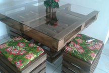 Mesas artesanais