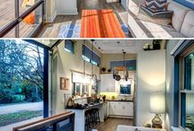 Tiny Homes / I'm intrigued by tiny homes, usage of space and organization.