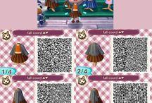 vêtements ACNL