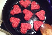 Romantic way so serve beef at valentinesday!