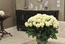 Vase arrangements / Vase arrangements we made for corporate, special occasions.