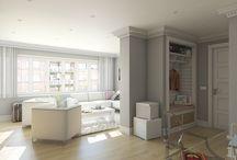Proyecto en Romo / #reforma #arquitectura #diseño #interiorismo #3D #infografias #previsualización3D #iluminación #Gumuzio&PRADA