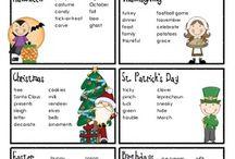 classroom holidays / by Marie Davis