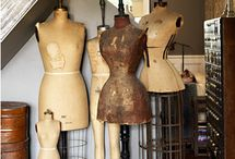 Dress Form Girls / Dress forms are a great vintage home decor item. / by Pam @ House of Hawthornes