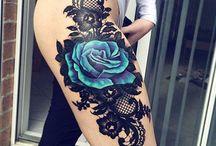 Csipke tetoválás