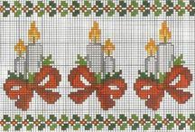Cross stitch Candle