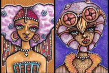 The Slumbering Herd / My art! http://www.theslumberingherd.com/