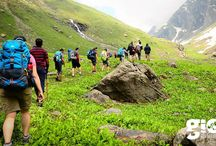 Hampta Pass Trek / Hampta Pass Trek starts from absolutely lush green valleys of Kullu & Manali and land up in semi-arid region of the Lahaul valley.   The trek to Hampta pass offers unmatched variety & excitement all along the trail to take care of any exhaustion that might set in.  Read more: http://www.gio.in/trek-to-hampta-pass