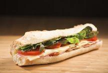Artisan Baguette sandwiches