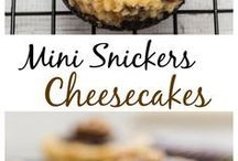 mimi snickers cheese cakes