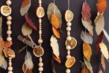 Fun with Fall Leaves / Nothing says Fall like beautifully coloured, crunchy leaves!  Have you ever used Fall leaves in a DIY project? What a perfect way to bring a touch of the outdoors into your home this season. On this board I'm rounding up all kinds of fun projects to make with Fall leaves!