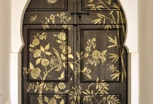 Inspired D O O R S / We have this thing for doors...
