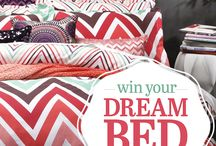 JULY: Win Your Dream Bed, valued at over $3000! / Enter our quick and easy competition at www.bedsrus.com.au  to win your dream bed, valued at over $3000! Plus you also go in the draw to win 1 of 3 Logan & Mason Quilt Cover sets!