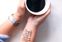 Adventure of Letters- Temporary Tattoos
