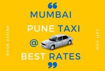 Best Mumbai Pune Taxi Services lowest rates online
