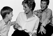 Di~♛♚Princess Di And her sons / by Viola Chow