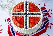 Norske krem kaker / kaker