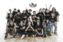 Gorilla Crew / Bboy, Hiphop, Locking, Popping, House... Korea Street Dancers. <Since 1998>