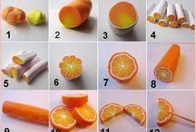 narancs kèszìtése fondantbòl