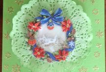 Doily Cards by Marcia / Creative card ideas with doilies