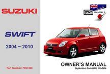Suzuki car manual