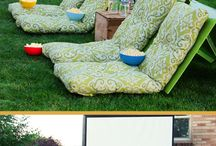 Movie Outing in the Backyard Ideas