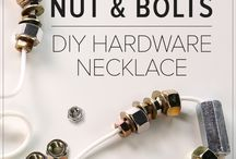 Recycled Nuts, Bolts, Nails & Screws