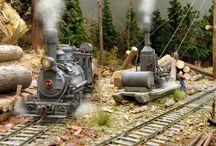 Train modelisme / Collection d'idées de décors