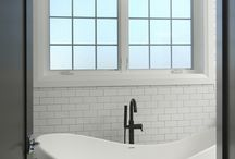 Bathrooms / www.windsorwindows.com / by Windsor Windows & Doors