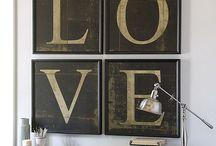 Wall decor / by Lynne Jennings Billington