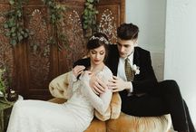 Industrial Glam Pacific Northwest Wedding Inspiration featured on Artfully Wed