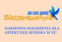 opieka-anonse.pl / Darmowe ogłoszenia