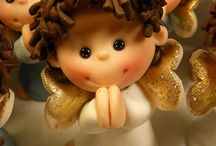 Polymer clay and decorations / by Mary Wilkening