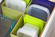 Rangements cuisine tiroirs