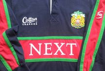 Classic Leicester Tigers Rugby Shirts / Classic, vintage & retro authentic Leicester Tigers rugby shirts from the past 30 years. Quality jerseys from the most memorable seasons of yesteryear.  Worldwide Shipping   Free UK Delivery