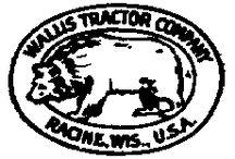 Tracteur WALLIS