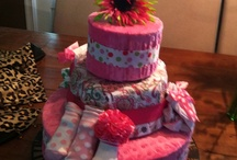 Baby shower in pink / by Tara Woods