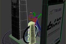 BIXI Toronto 3D Model