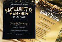 Vegas wedding - invitation ideas
